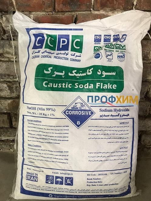 Сода каустическая / натрий едкий чешуированный Китай/Иран