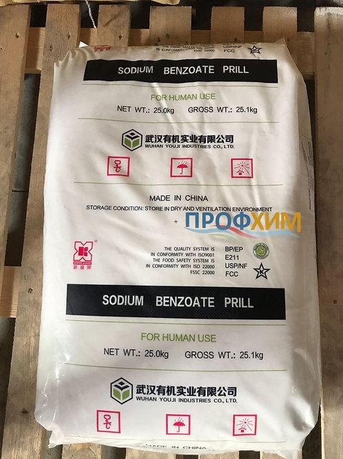 Бензоат натрію гранули