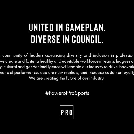 Leaders Across Professional Sports Teams Launch Pro Sports Assembly