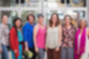 Group photo of seven women who are the board members of Nourishing Generations