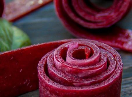 Homemade Fruit Roll-up