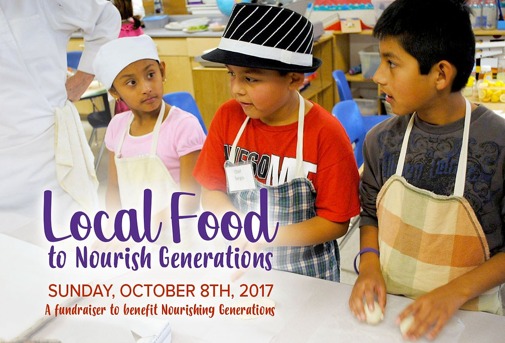 Local Food to Nourish Generations Event Flyer