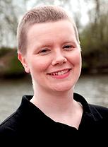 portrait photo of a woman smiling