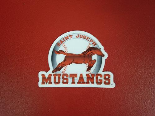 Small Mustangs Sticker