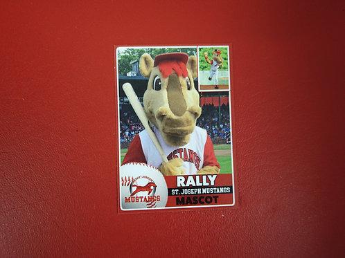 Rally Baseball Card