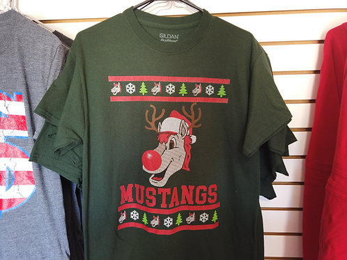 Mustangs Christmas Shirt