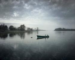 """Moored, Long Neck, Delaware"" Richard Calvo Photography"