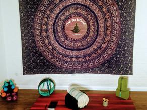 6 Steps To Your @ Home Yoga Studio