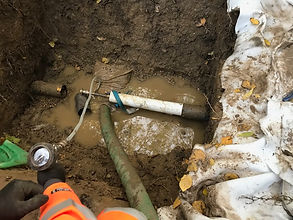 Refurbishment of 110mm PVC Rising Main for Anglian Water