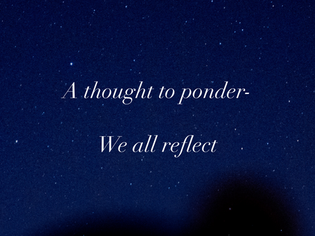 We all reflect
