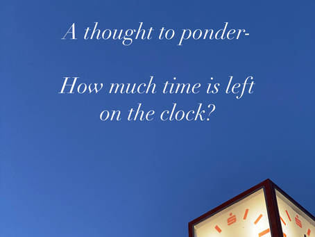 How much time is left on the clock?