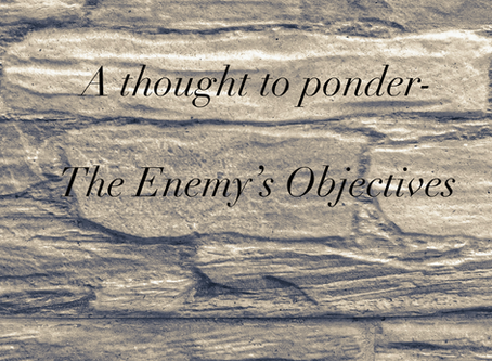 The Enemy's Objectives
