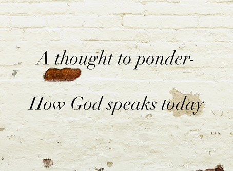 How God Speaks Today