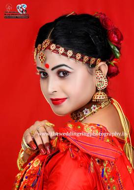 Assamese bridal image