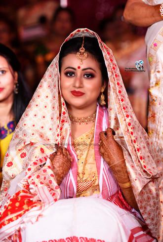 Assamese bridal photoshoot