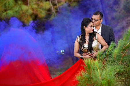Pre wedding shoot in Shillong