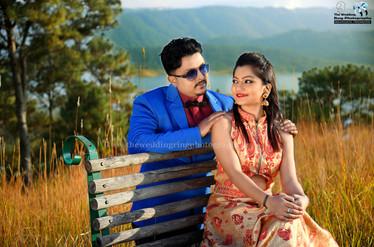 Pre wedding shoot in Assam