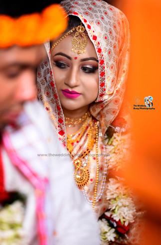 Beautiful assamese bride