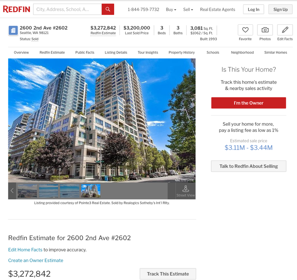 2600 2nd Ave, Penthouse, Seattle