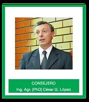 Ing Agr (PhD) Cesar G Lopez.png