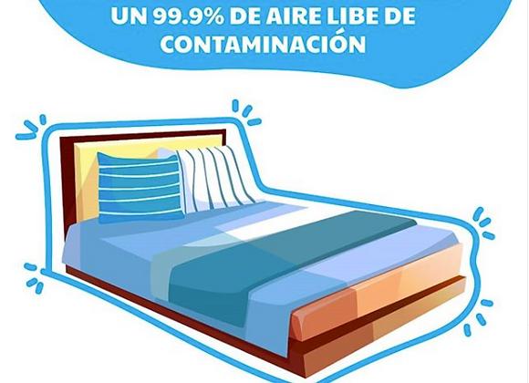 Higienización en seco de colchón
