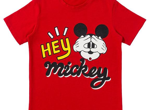 Camiseta Hey Mickey niño