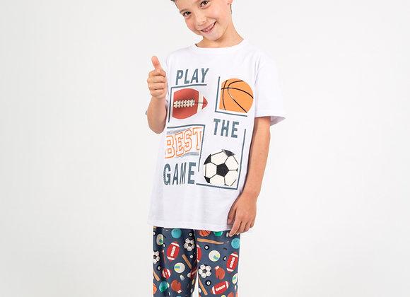 Pijama deportes niño