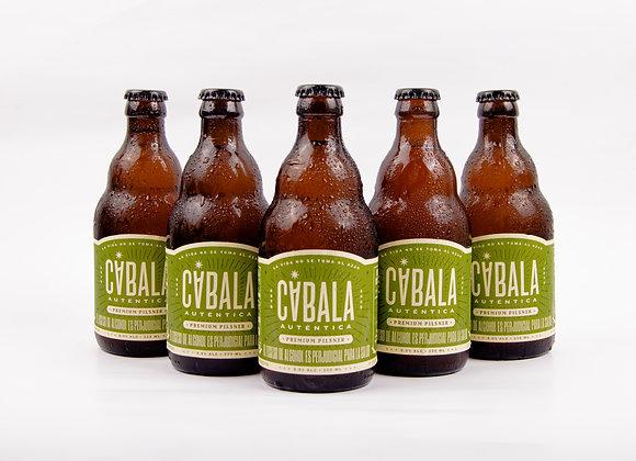 5 Pack Blonde ale cerveza