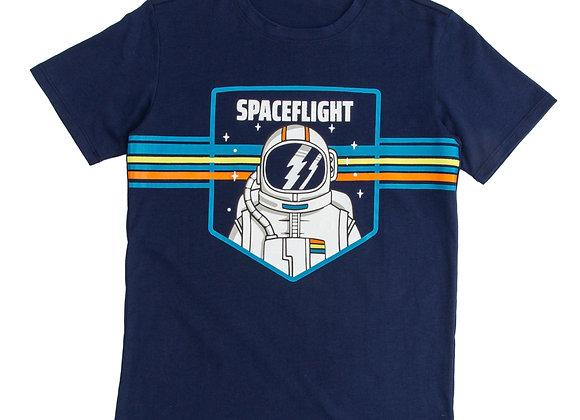 Camiseta space flight niño