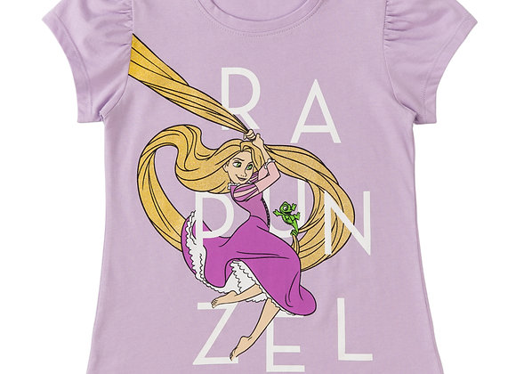 Camiseta Rapunsel niña