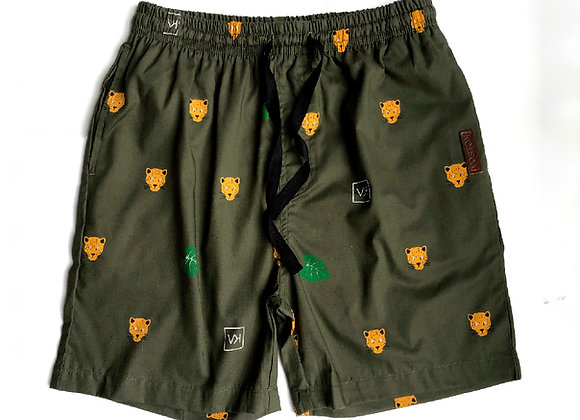 Pantaloneta corta jaguares