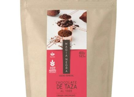 Chocolate de taza 100% cacao