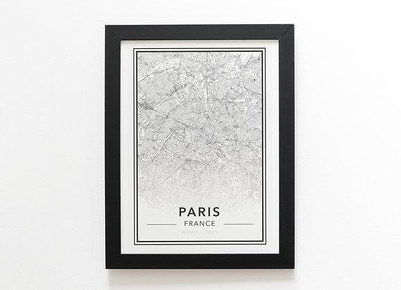 Mapa París