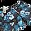 Thumbnail: Pantaloneta Blue flowers