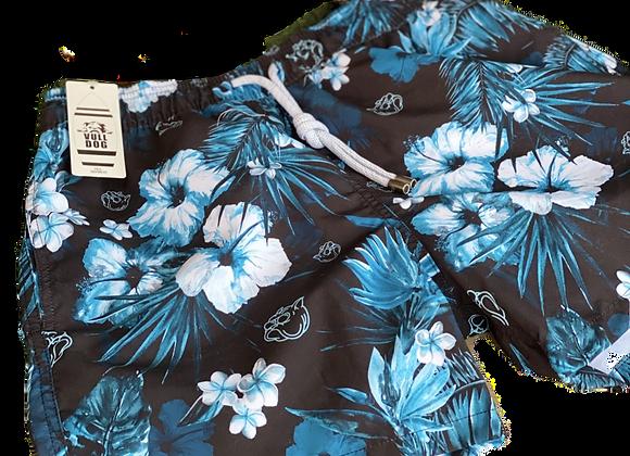 Pantaloneta Blue flowers