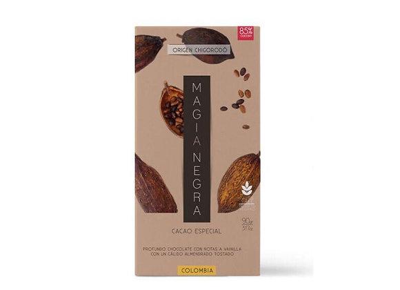 Chocolate oscuro al 85%
