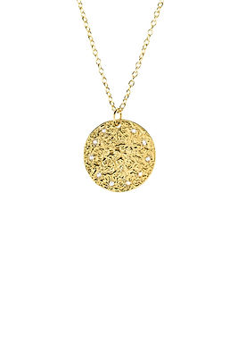 Cosmic Full Moon Necklace