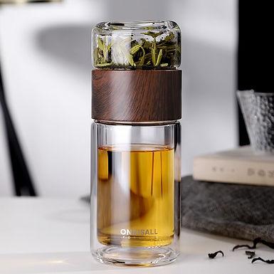Double  Tea Travel Thermos