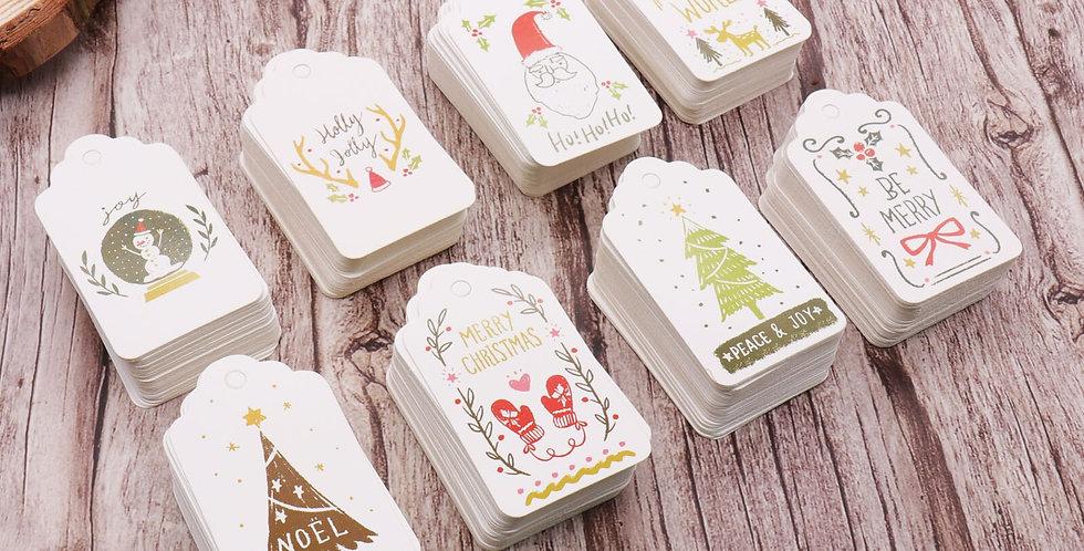 Merry Christmas DIY Gift Tags
