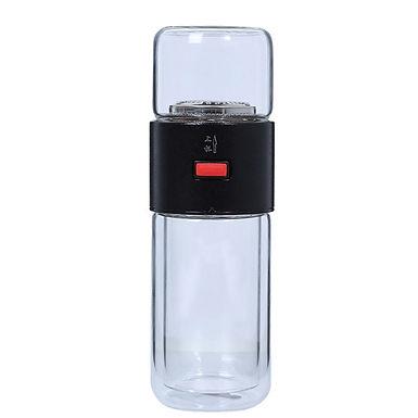 Double Glass Tea Thermos