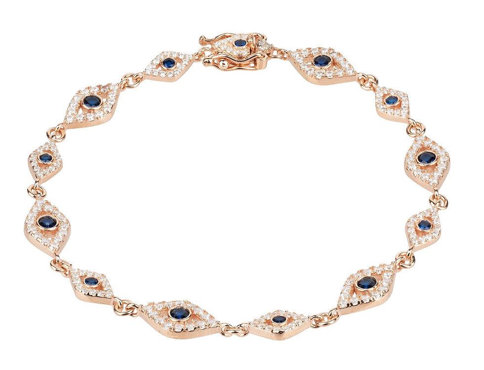 Eye Sparkling Tennis Bracelet