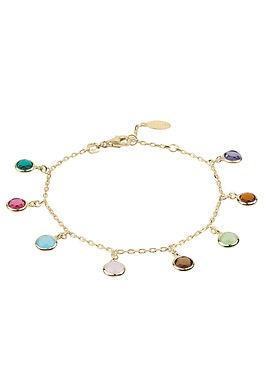 Florence Multi Coloured Gemstone Bracelet