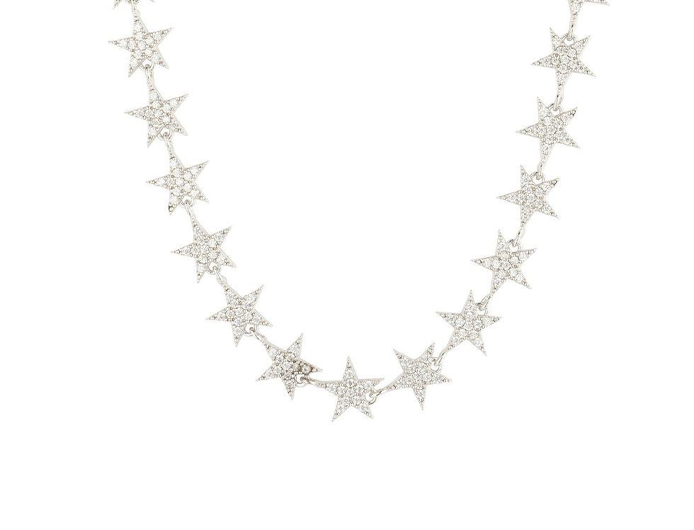 Star Strand Choker Necklace