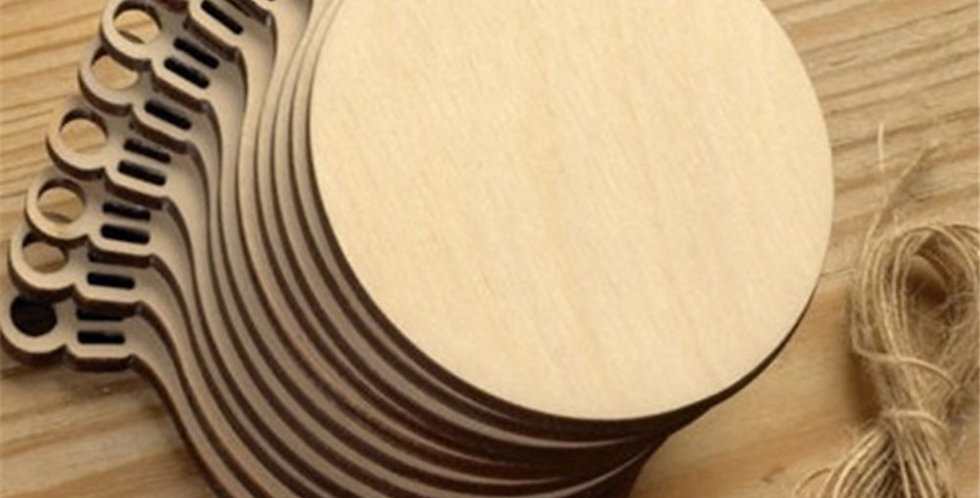DIY Wooden Ornament Tags