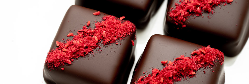 CBD Raspberry Chocolate Fudge
