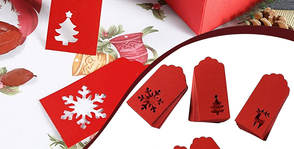 Christmas Cut Out Gift Tags