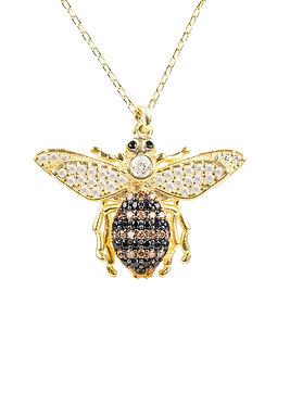 Honey Bee Pendant Necklace