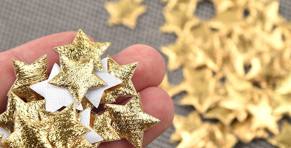 Christmas Five-Pointed Star Confetti