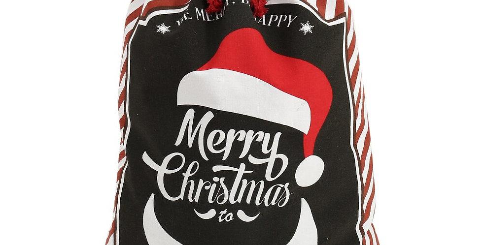 Candy Cane Christmas Gift Bag