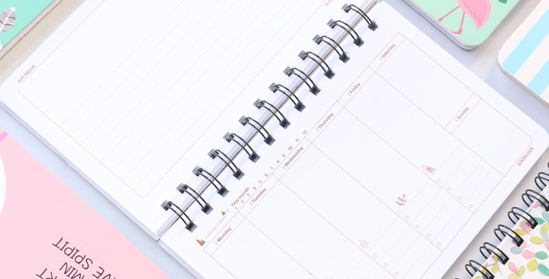 Positive Vibes Weekly Planner
